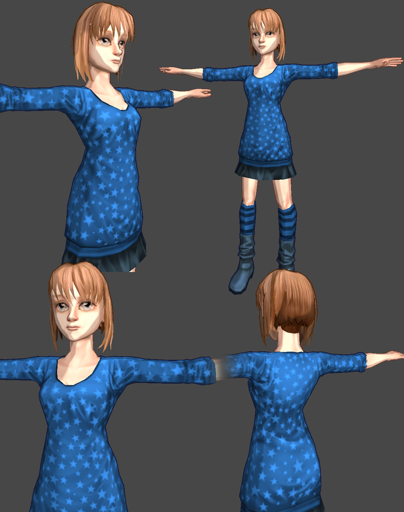 Unity Girl 2 by Athey