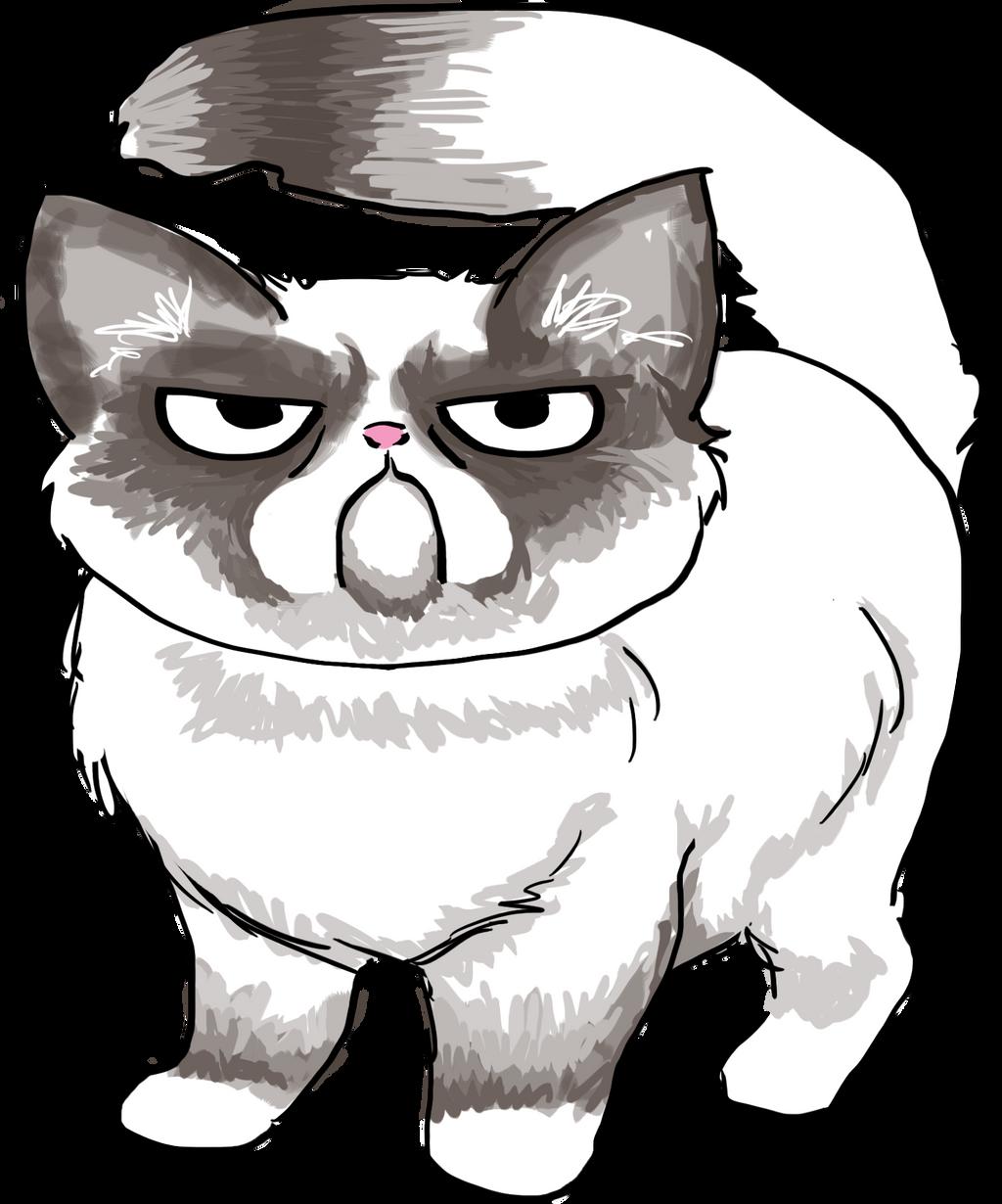Grumpy Cat by Athey