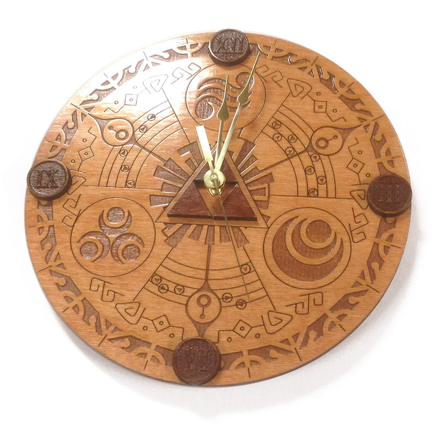 Legend of Zelda Wall Clock by Athey