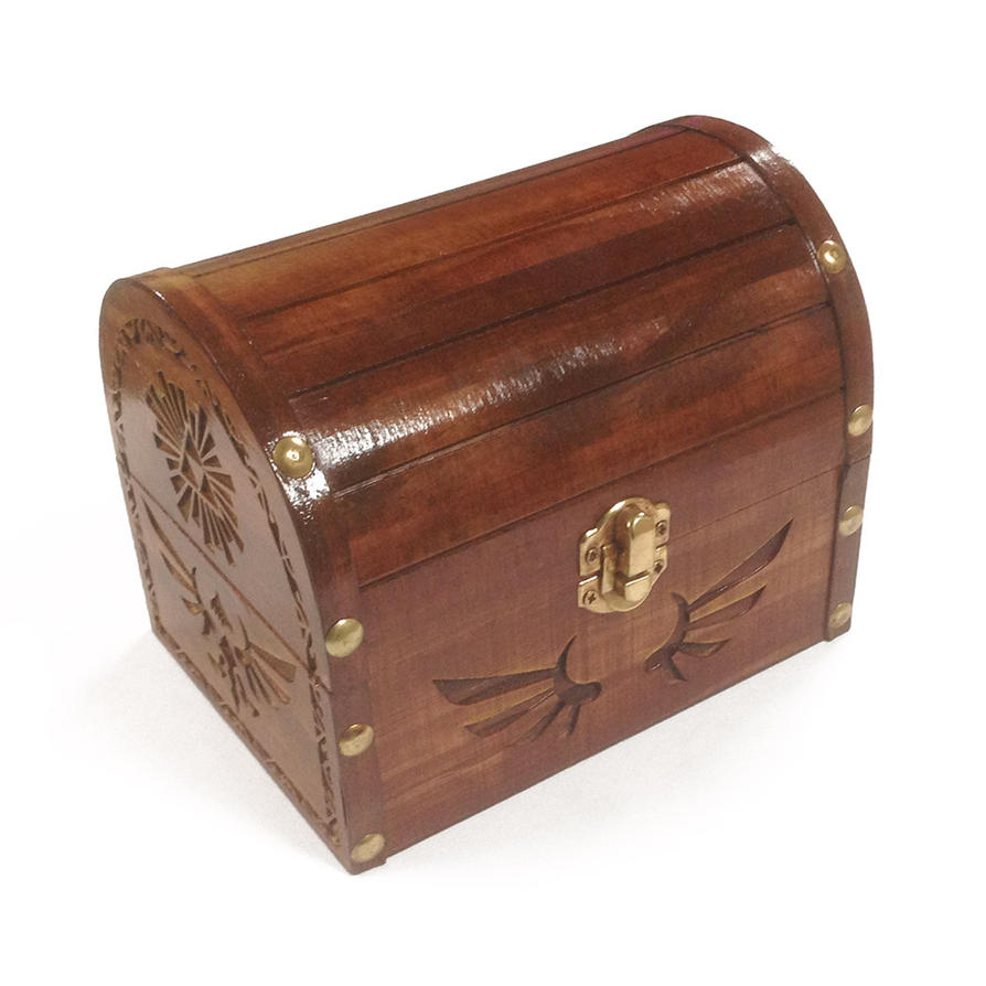 Zelda Wooden Treasure Chest by Athey