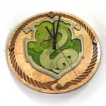 Harry Potter Pottermore Slytherin Crest as a clock