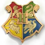 Harry Potter Hogwarts Crest laser cut wall art