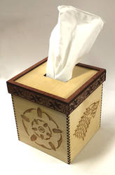 Game of Thrones Tissue Box Cover