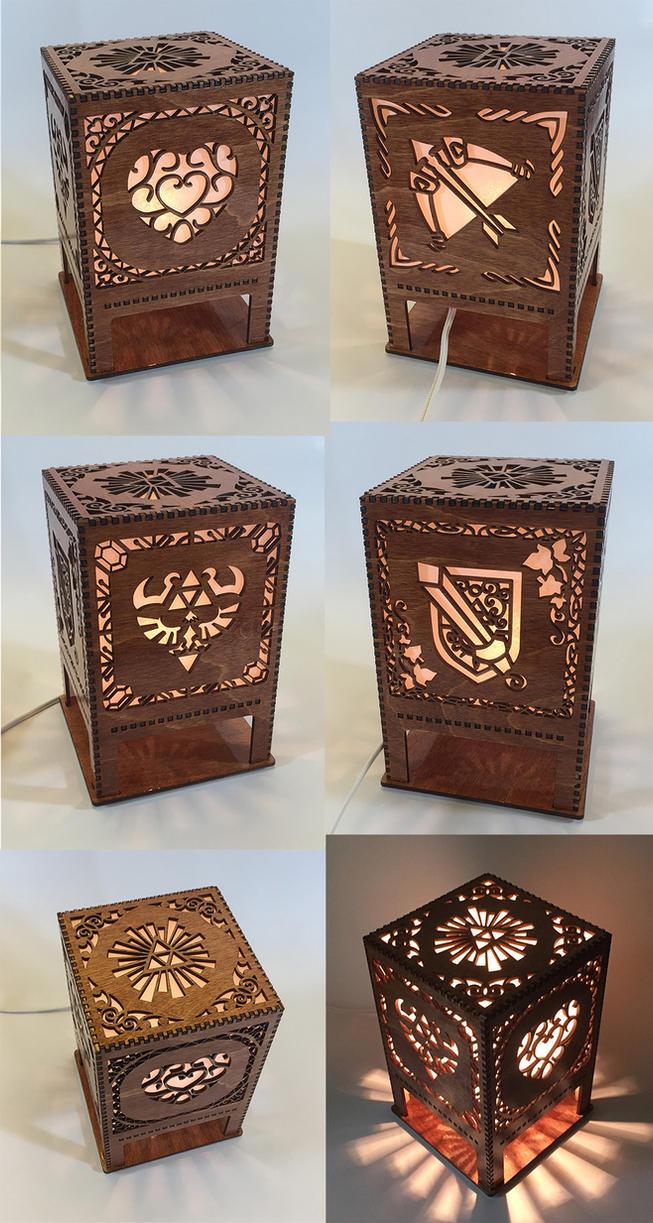 Legend Of Zelda Lasercut Lamp By Athey ...