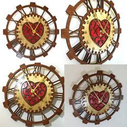 Legend of Zelda Heart Container Clock