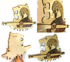 Game of Thrones Tyrion Lannister crossbow wallpiec
