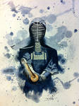 Kendo Watercolor by Hernysite