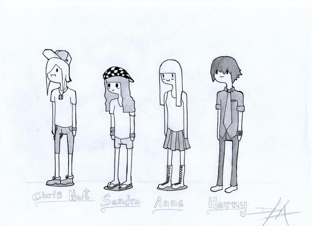 Adventure Time (Otaku Friends) by Hernysite