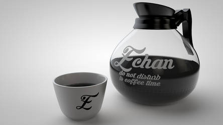 E-chan Caffee by Hernysite