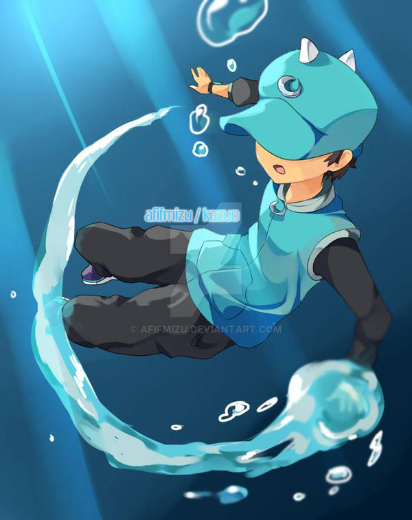 collab: boboiboy water splash on! by afifmizu