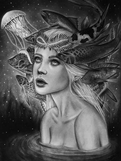 Fish girl by liptaizsofi