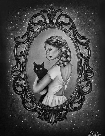 Mirror mirror on the wall who's the fairest cat by liptaizsofi