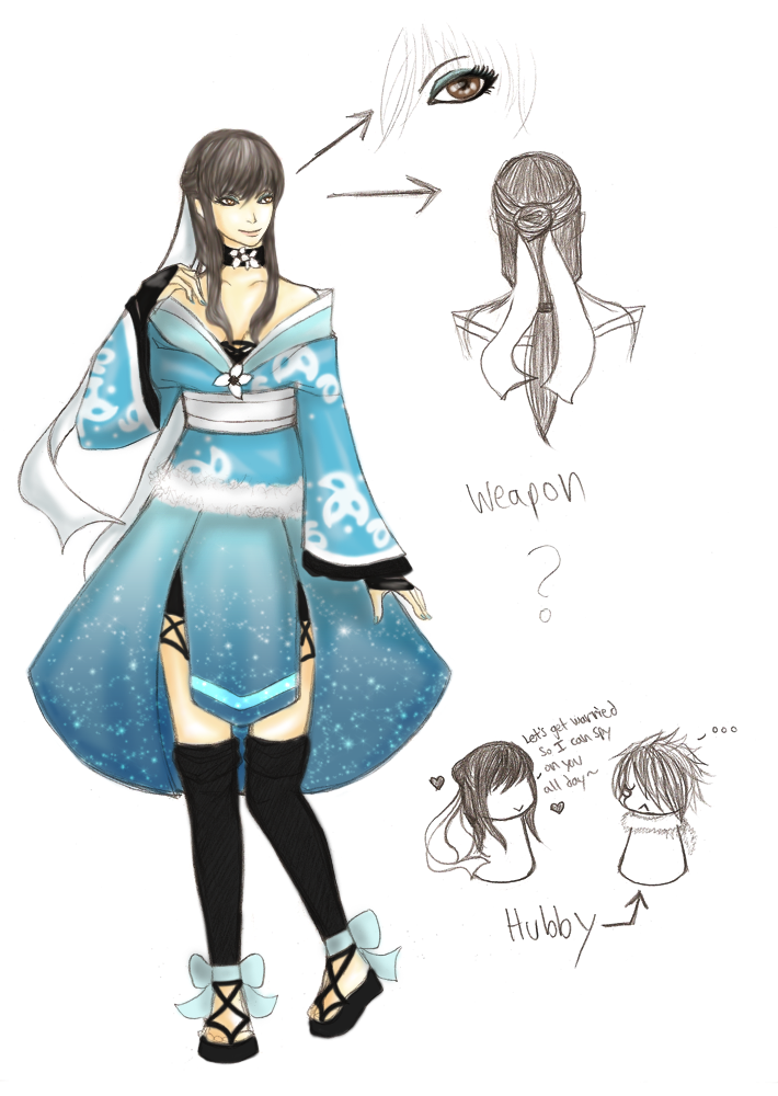 Nana-hime SW3 REF 'UPDATED' by Brizz