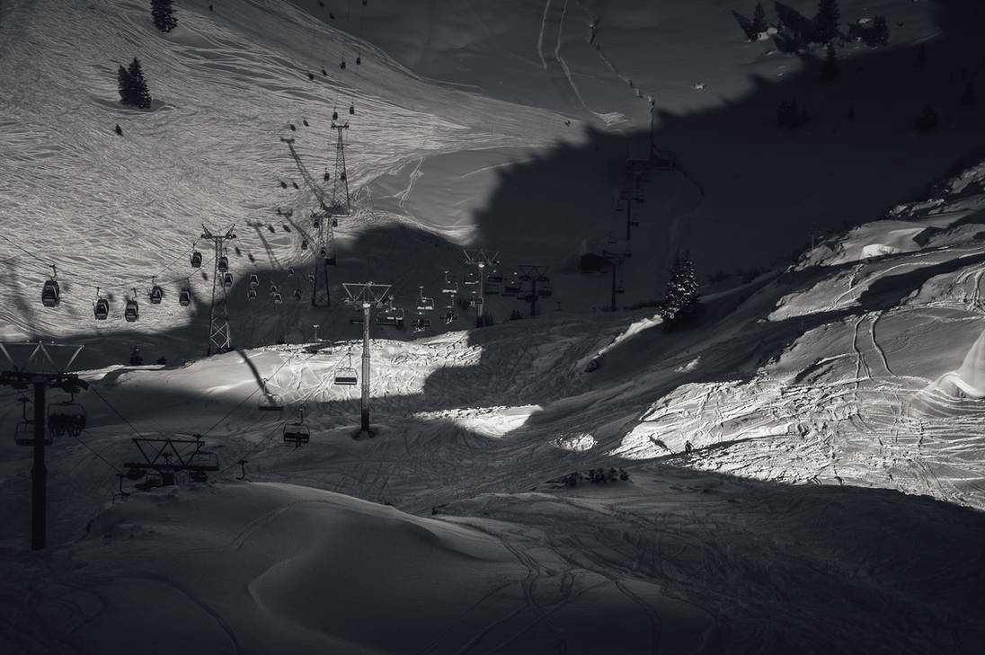 Mountain Shadows by 1darkstar1
