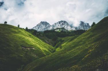 Summer Alps by 1darkstar1