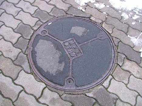 metal wheel on floor