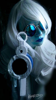 Mr. Freeze cosplay: Happy Batmanday 2017!