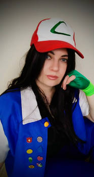Ash Ketchum cosplay: Happy May Day!