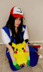 Ash Ketchum cosplay: Happy valentines day 2019!