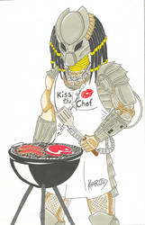 Kiss the chef predator