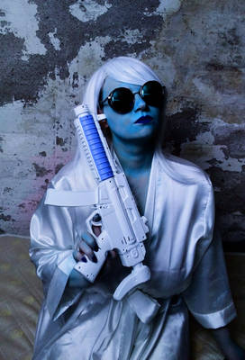 Mr. Freeze cosplay: proud