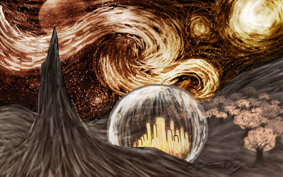 Gallifrey version of Starry Night :D