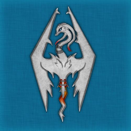 Reshiram Skyrim Imperial Symbol By Lugia Sea On Deviantart