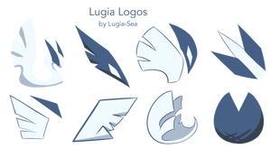Assorted Lugia Logos