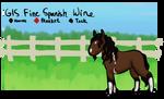 GIS Fine Spanish Wine 'Merlot' [Ref]