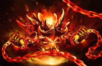 Lava god