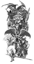 Tattoo Design by PaladinPainter