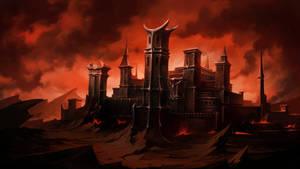 Castle commission by PaladinPainter