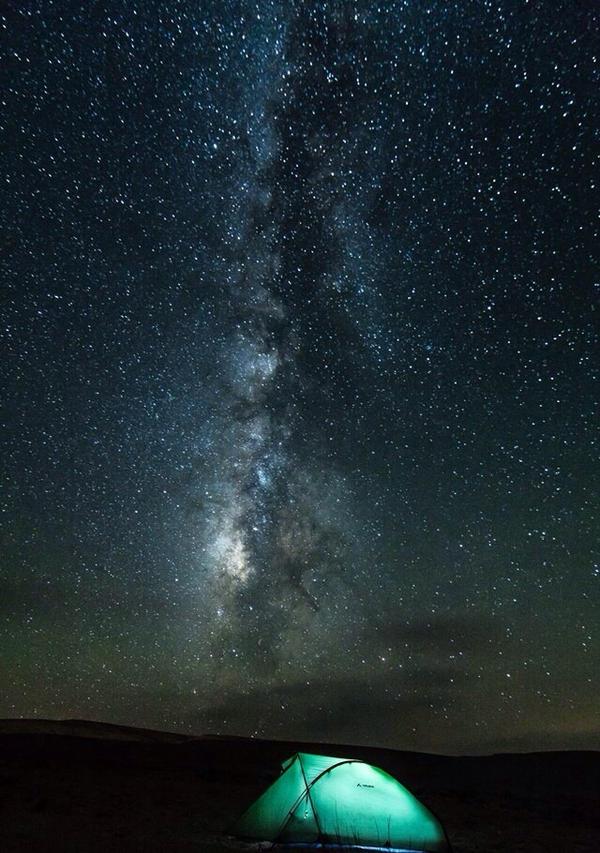 Desert's night sky by TinyDannyArts on DeviantArt