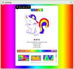 [F2U] Rainbow Kidcore Pagecode!!!