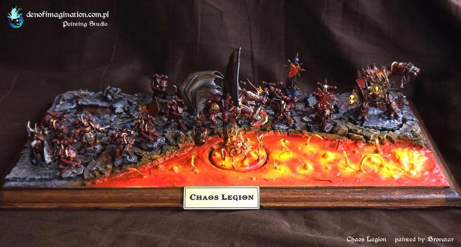 Chaos Legion. Khorne Force by Brovatar