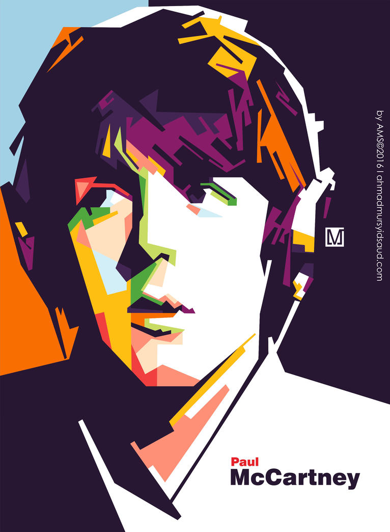 Paul Mccartney In WPAP By Mursyidinejad
