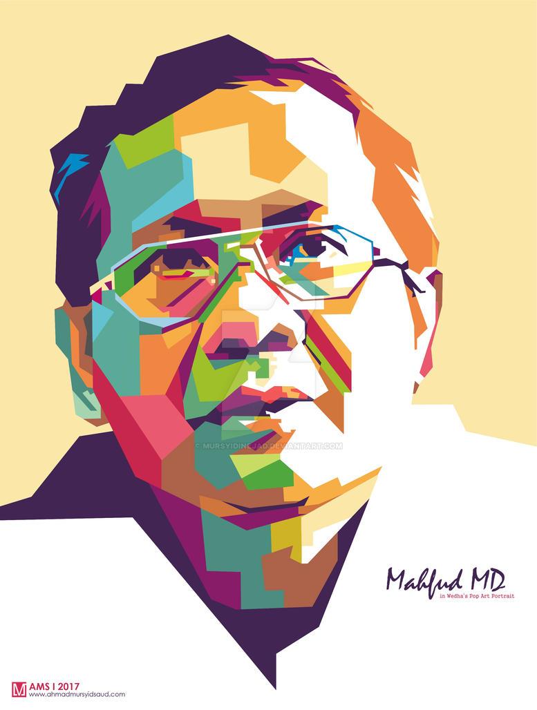 Mahfud MD in WPAP by Mursyidinejad