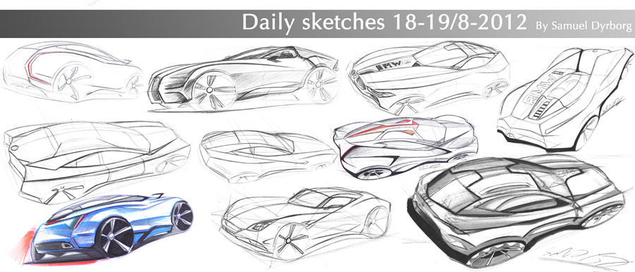 Daily sketches part 5 by dyrborgdesign