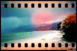 HOLGA 35mm series beach by aaronmcmullen