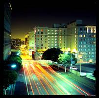 Olive Street- Los Angeles by aaronmcmullen
