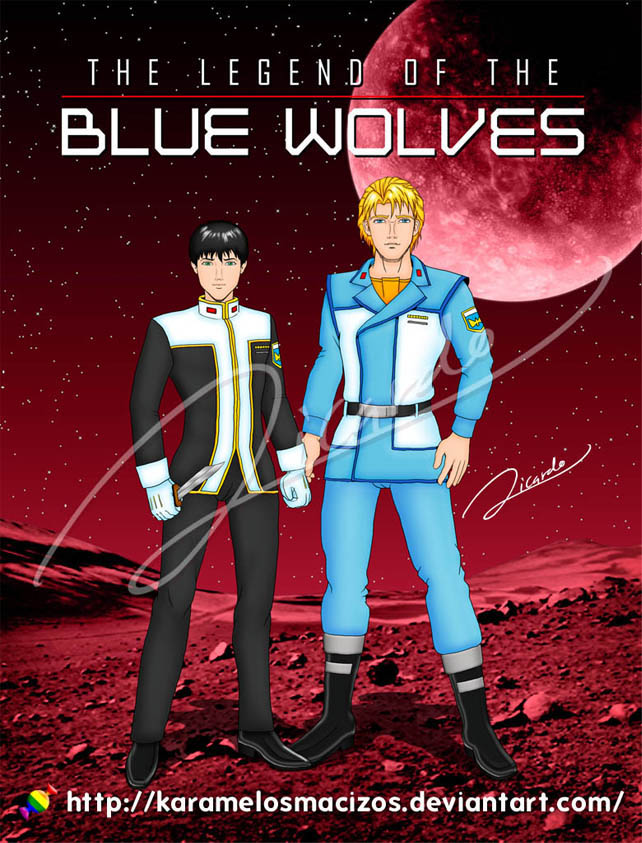 legend of the blue wolves