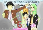 Happy 6th Anniversary Muslim-Manga! by Muhnaa
