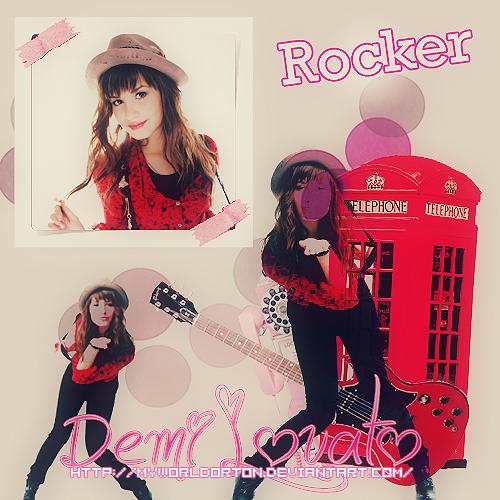 Rocker Demi by MyWorldOrton