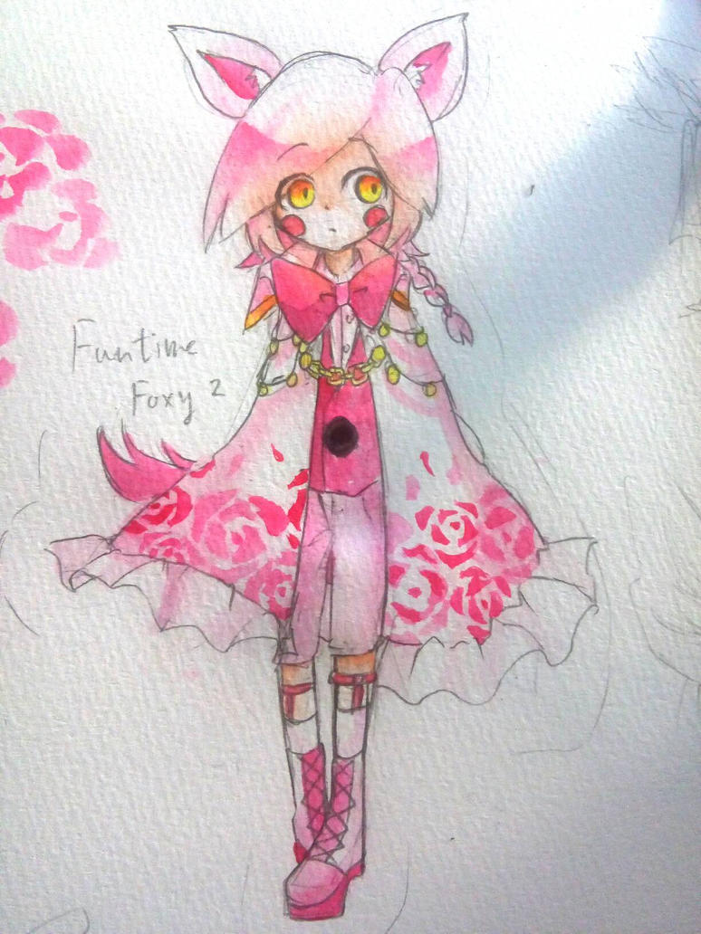 how to draw fnaf sister location foxy