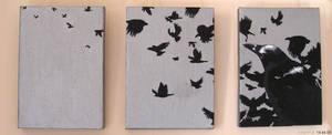 Crows by spiderdijon