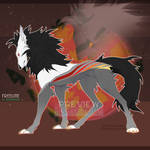 [OPEN] Wolf Adopt #3 - Set Price by BarbullAdopts