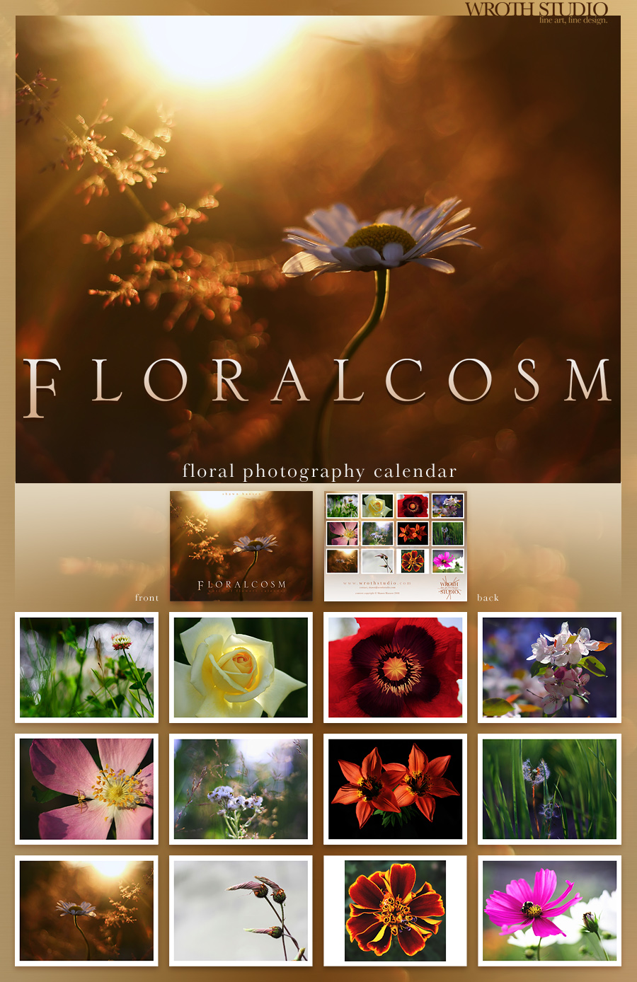 Floralcosm Calendar by wroth
