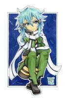 05 - Sinon / Sword Art Online II by WojikHell