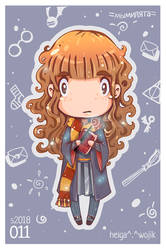 011: Hermione Granger from Harry Potter by WojikHell