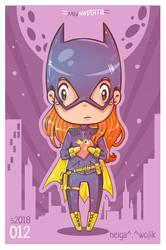 012: Batgirl by WojikHell